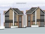 Approved: larger scheme of four houses in Southbourne