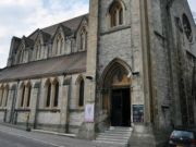 Approved: consent for new glazed link walkway at listed former church in Bournemouth