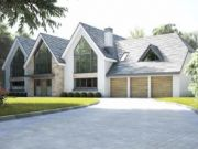 Approved: substantial extensions and total house remodel in Ferndown