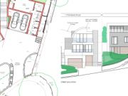 Approved: pair of contemporary three-storey dwellings in Parkstone, Poole