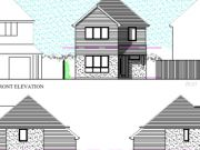 Won on appeal: detached house on garden in Upton, Poole