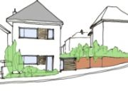 Approved: Side garden plot severance to form a 3 bed detached dwelling in Winton, Bournemouth