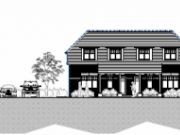 Won on appeal: two semi-detached dwellings in Hamworthy, Poole