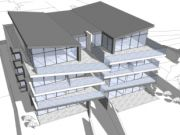 Approved: material amendment to totally transform the appearance of an approved block of luxury apartments in Southbourne