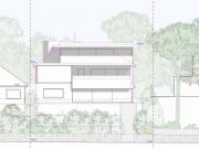 Approved: Three-storey contemporary house remodel in Canford Cliffs, Poole