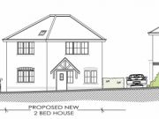 Won on appeal: new dwelling on infill site in Walkford, Highcliffe
