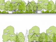 Won on appeal: replacement of one detached house with three in Canford Cliffs, Poole