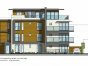 Approved: four-storey block of 4 luxury apartments with sea views in Southbourne