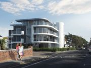 Approved: 12 luxury apartments and car showroom in Sandbanks, Poole