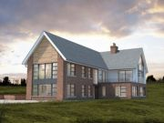 Approved: contemporary replacement dwelling in Leicestershire