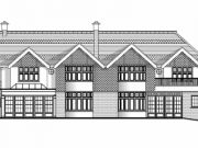 Approved: two storey extensions and alterations to dwelling in Branksome Park, Poole