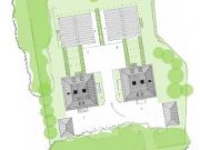 Won on appeal: eight townhouses in Chilbolton Avenue, Winchester