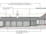 Won on Appeal: large outbuilding near Brockenhurst in the New Forest National Park