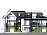 Won at appeal: 8 unit residential scheme in Southbourne, Bournemouth