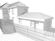 Approved: alterations and extension to create two one-bedroom flats in Bournemouth
