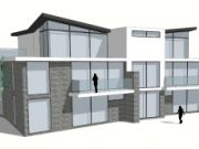 Aprroved: 9 unit residential scheme in Canford Cliffs, Poole