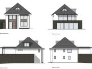 Won on appeal: remodel and contemporary extension of existing house in Bournemouth
