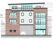 Approved: four storey block of 10 flats in Poole Town Centre Conservation Area