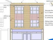 Approved: alterations to existing building to form four flats above retail unit on Poole High Street