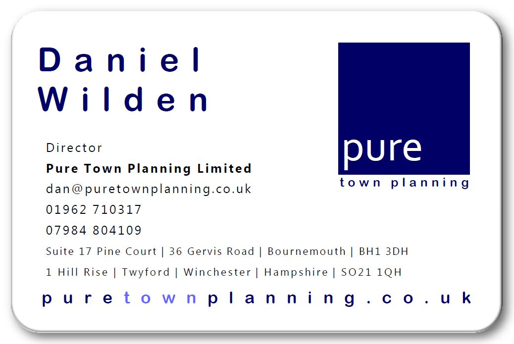 Dan Wilden planning consultant Winchester Hampshire
