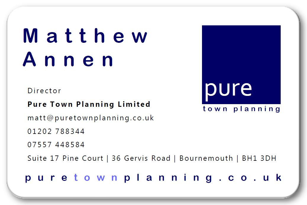 Matt Annen planning consultant Bournemouth Dorset