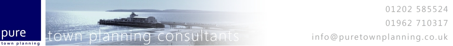 Pure Town Planning | Town Planning Consultants,planning permission, planning applications, planning appeals in Bournemouth, Poole, Dorset, Southampton, Winchester, Hampshire
