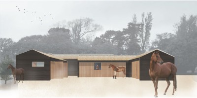 Stables New Forest National Park planning permission