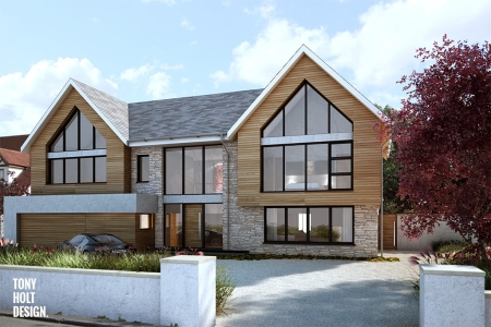Approved Contemporary Replacement House In Essex