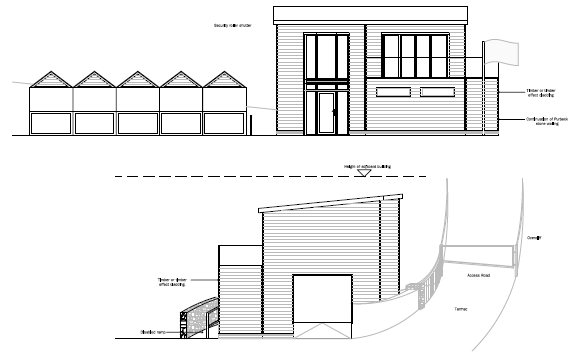 Southbourne surf as proposed