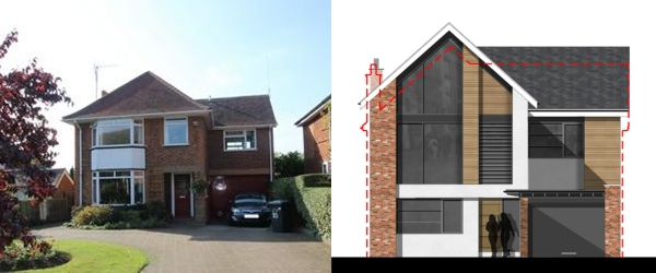 Approved: two storey extensions and house remodel in Henlow ...