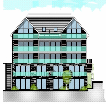 Boscombe Spa ten flats approved planning consultants Bournemouth