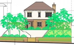 Wimborne Road planning approval chartered town planners Bournemouth