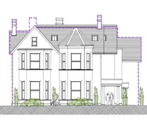 Approved: conversion of former language school to 14 flats on Lansdowne Road, Bournemouth