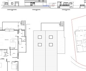 Approved: residential extensions including rear terrace in Parkstone, Poole