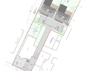 Approved: pair of detached dwellings on backland plot in Newtown, Poole