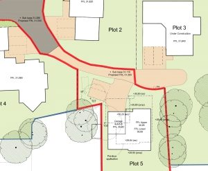 Won on appeal: plot split and new four-bedroom house in Ashley Heath, Dorset