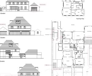 Approved: extension to form a new flat in Meyrick Park and Talbot Woods Conservation Area, Bournemouth