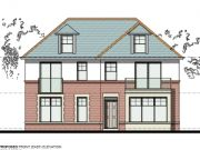 Approved: block of six flats in Broadstone, Dorset