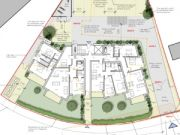 Approved: new three-storey block of nine flats in Southbourne