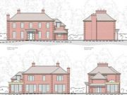 Approved: detached house at Hangersley Hill near Ringwood