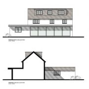 Approved: alterations and extensions to a house in Cerne Abbas, Dorset