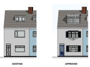 Approved: alterations and extensions to house on Ballard Road, Poole