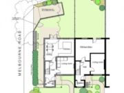 Approved: erection of  a new end of terrace house in Christchurch