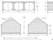 Approved: triple garage in Damerham near Fordingbridge