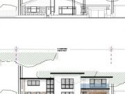 Approved: alterations, extensions and contemporary remodel of a house in Canford Cliffs, Poole
