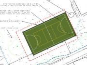 Approved: floodlit multi-use games area (MUGA) in St Ives, Dorset