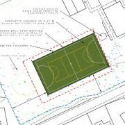 Approved: floodlit multi-use games area (MUGA) in St Ives, Dorset