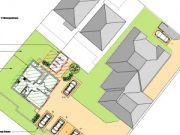 Approved: detached building containing two flats in Poole