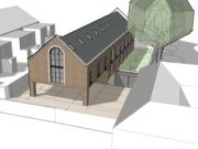 Approved: replacement of light industrial units with block of 12 flats in Westbourne