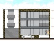 Approved: mixed-use building of offices and flats in Hamworthy, Poole